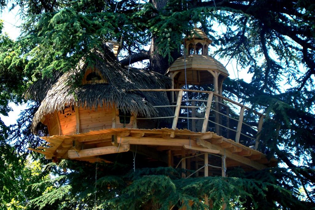 Weekend insolite dans Les cabanes dans les arbres de Sur un arbre perché à Pons (17)