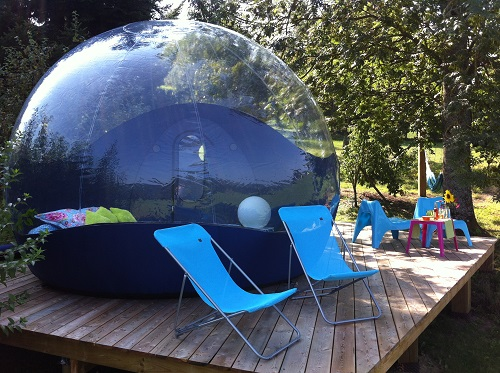 week end insolite en bulle en rh ne alpes. Black Bedroom Furniture Sets. Home Design Ideas