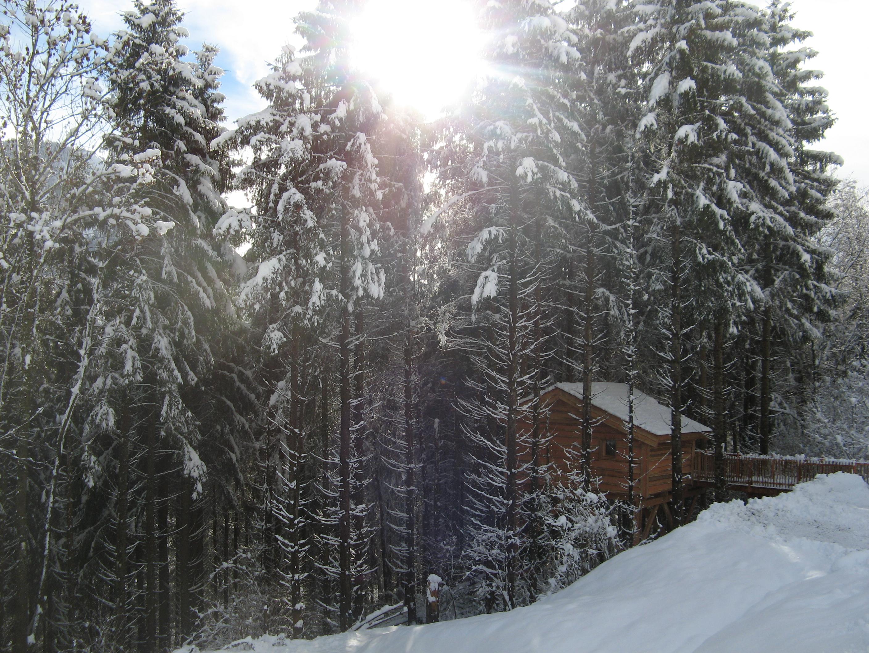 week end insolite rh nes alpes cabane bellevaux. Black Bedroom Furniture Sets. Home Design Ideas