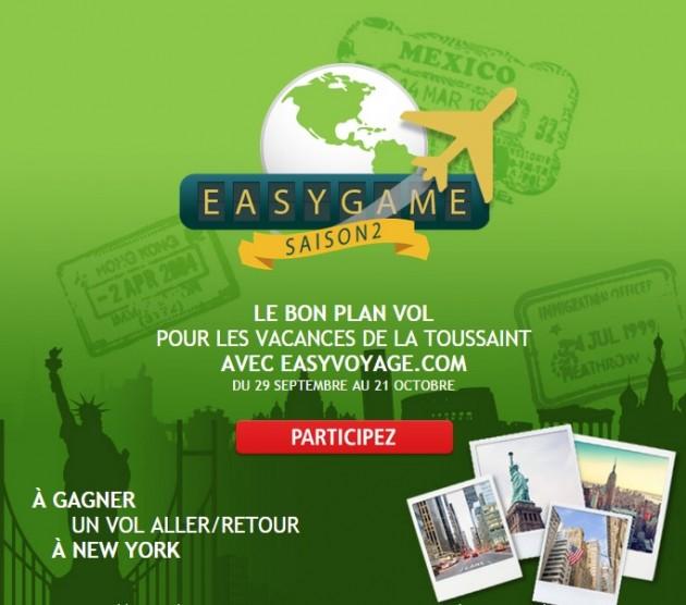 Jouez et gagnez un aller-retour pour NewYork avec EasyVoyage.com