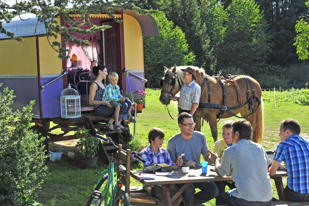 Weekend insolite à la Ferme du Pré Fleuri à Sermentizon, Auvergne Rhône-Alpes