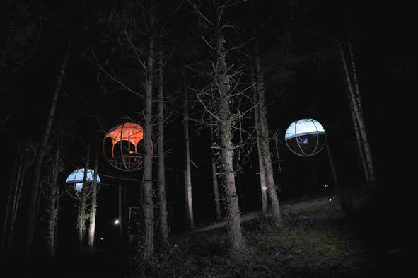 Weekend insolite à Les nids du Béarn, Pyrénées atlantique 64 région aquitaine.