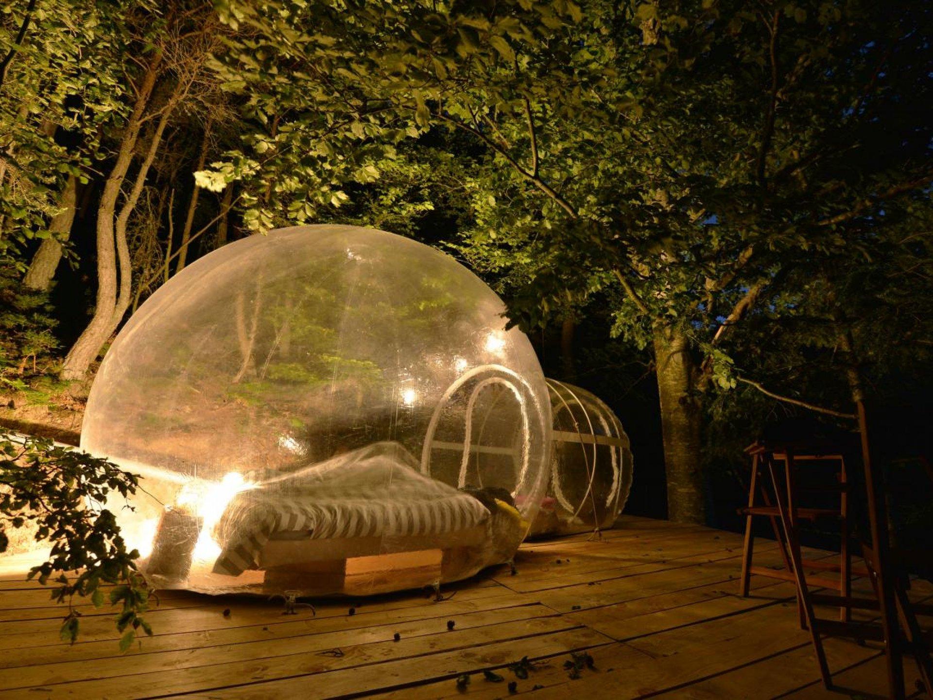 Week End Bulle Transparente Bretagne petite bulle transparente n°1 - idées de weekend insolite